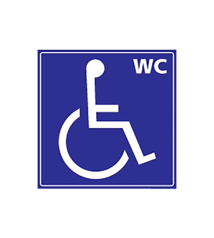 Disabled Person Signage