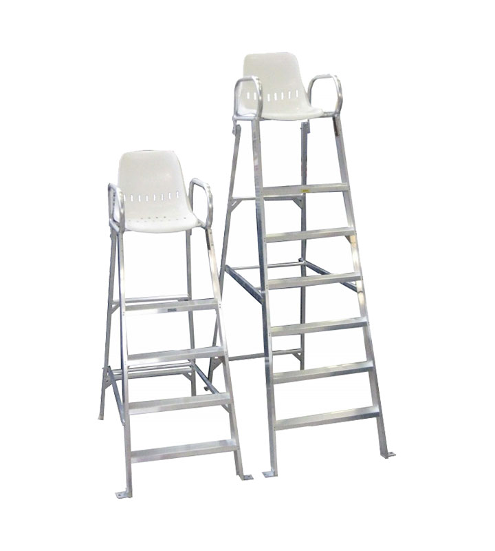 Aluminium Hexa Chair  - Lifeguard-Security Range