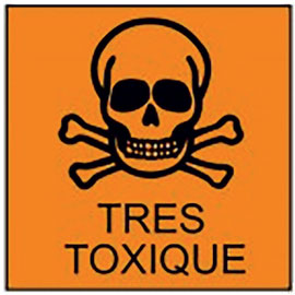 Toxic Product Sign